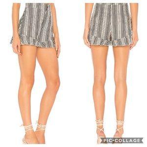 Show Me Your Mumu NWT Avery Ruffle Shorts